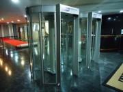 Porta Giratória detectora de metais